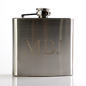 cheap Wedding Gifts-Personalized Stainless Steel Barware & Flasks / Hip Flasks Groom / Groomsman Wedding / Anniversary / Birthday