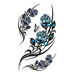 cheap Tattoo Stickers-Temporary Tattoos Disposable / High quality, formaldehyde free Body / Leg / Back Water-Transfer Sticker Tattoo Stickers