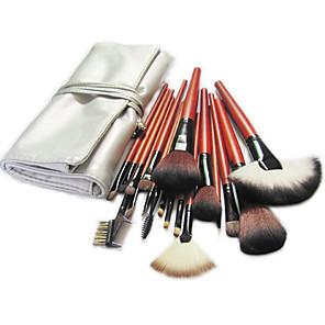 cheap Makeup Brush Sets-Professional Makeup Brushes Makeup Brush Set 18pcs Pony / Synthetic Hair / Artificial Fibre Brush Makeup Brushes for / Pony Brush