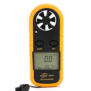 cheap Novelties-Benetech Gm816 Anemometer 0-30M/S Abs Lcd Display