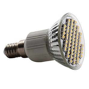 cheap Micro Cameras-1pc 3.5 W LED Spotlight 300-350 lm E14 GU10 MR16 60 LED Beads SMD 2835 Warm White Cold White Natural White 220-240 V