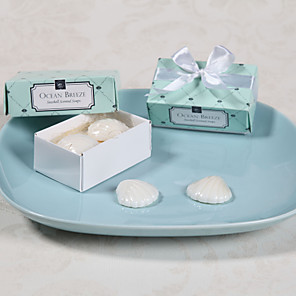cheap Practical Favors-Wedding Bridal Shower Bath & Soaps Beach Theme-2 Wedding Favors