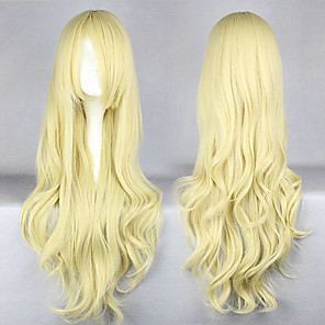 cheap Synthetic Trendy Wigs-Natsume Yuujinchou Cosplay Cosplay Wigs Men's Women's 38 inch Anime Wig