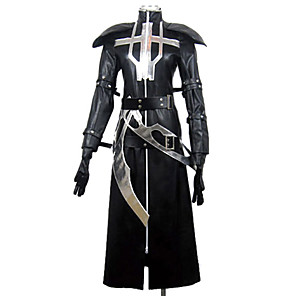 cheap Videogame Costumes-Inspired by Lamento-BEYOND THE VOID Ricus Video Game Cosplay Costumes Cosplay Suits Patchwork Long Sleeve Shawl Gloves Waist Accessory Costumes