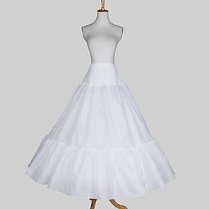 cheap Wedding Slips-Wedding / Special Occasion Slips Satin / Taffeta Floor-length A-Line Slip / Ball Gown Slip with