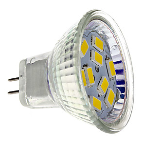 cheap LED Spot Lights-2 W LED Spotlight 200 lm GU4 MR11 9 LED Beads SMD 5730 Warm White 12 V