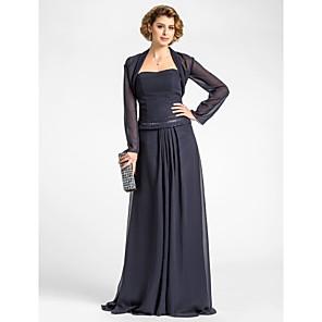 cheap Wedding Wraps-Long Sleeve Shrugs Chiffon Wedding / Party Evening Women's Wrap / Bolero With Draping