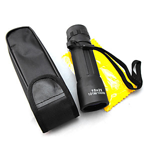 cheap Flashlights & Camping Lanterns-10 X 25 mm Monocular Night Vision in Low Light High Definition Compact Mini 101/1000 m Night Vision Plastic
