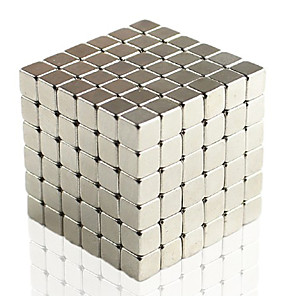 cheap 3D Puzzles-216 pcs 5mm Magnet Toy Building Blocks Super Strong Rare-Earth Magnets Neodymium Magnet Puzzle Cube Magnet Cube Square Magnet Magnet Magnetic Adults' Boys' Girls' Toy Gift