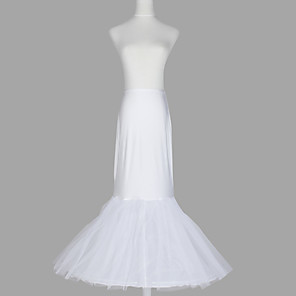 cheap Wedding Slips-Wedding / Special Occasion / Party / Evening Slips Spandex / Taffeta / Tulle Floor-length Mermaid and Trumpet Gown Slip / Classic & Timeless with