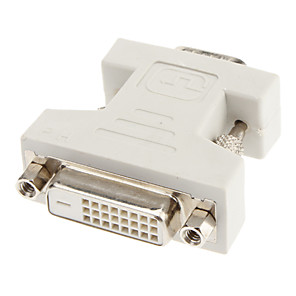 cheap DVI Cables & Adapters-DVI 24+1 to VGA F/M Adapter