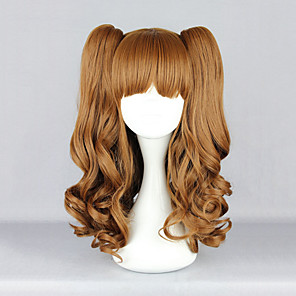 cheap Lolita Wigs-Lolita Wigs Sweet Lolita Dress Lolita Lolita Wig 22 inch Cosplay Wigs Solid Colored Wig Halloween Wigs