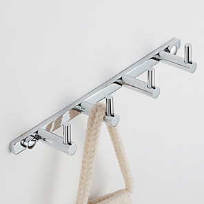 cheap Bathroom Gadgets-Robe Hook Contemporary Brass 1 pc - Hotel bath