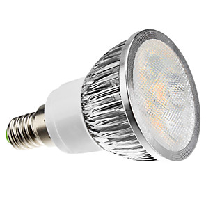 cheap LED Spot Lights-ZDM E14 4W 260-300lm  LED Spotlight 4 LED Beads High Power LED Dimmable Warm White Cold White Natural White AC220-240V