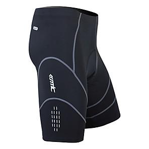 cheap Bikes-SANTIC Men's Cycling Padded Shorts Black Solid Color Bike Shorts Pants Bottoms Breathable 3D Pad Quick Dry Sports Nylon Spandex Coolmax® Mountain Bike MTB Road Bike Cycling Clothing Apparel