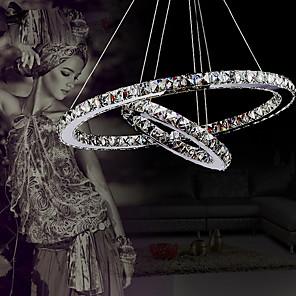 cheap Ceiling Lights-1-Light 40 cm Crystal / LED Chandelier / Pendant Light Metal Electroplated 110-120V / 220-240V