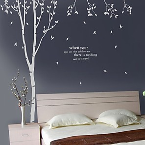 cheap Wall Stickers-Words & Quotes Wall Stickers House Rules Washable Wall Decals 1pc