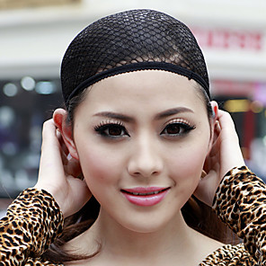 cheap Tools & Accessories-Cap / Wig Accessories Mesh / Cotton Wig Caps Mesh wig cap Comfortable / High Quality 1 pcs Black