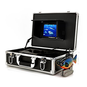 cheap CCTV Cameras-Underwater Camera Security Cameras Monitor With Recording (50M Cable  Sea Bottom Exploration)