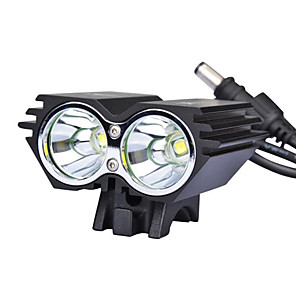 cheap Bike Lights & Reflectors-LED Bike Light Front Bike Light LED Mountain Bike MTB Bicycle Cycling Waterproof Multiple Modes Super Brightest Safety 18650 Cycling / Bike / Wide Angle / IPX-4