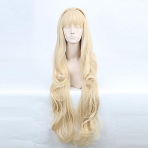 cheap Anime Costumes-Vocaloid SeeU Cosplay Wigs Women's 32 inch Heat Resistant Fiber Anime Wig
