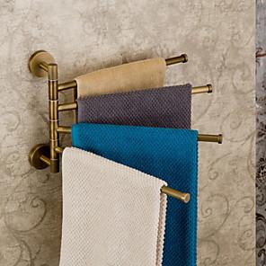 cheap Classical-Towel Bar Adjustable Antique Brass 1 pc - Hotel bath 4-towel bar