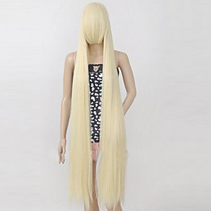 cheap Anime Cosplay Wigs-Chobits Chii Cosplay Wigs Women's 50 inch Heat Resistant Fiber Anime Wig