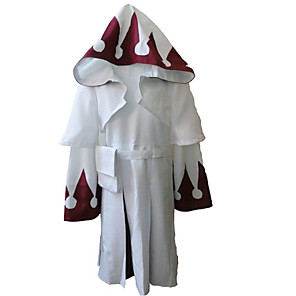 cheap Videogame Costumes-Inspired by Final Fantasy White Mage Video Game Cosplay Costumes Cosplay Suits Pattern Long Sleeve Coat Dress Belt Costumes