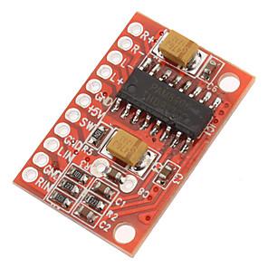 cheap Car Audio-3W High Power Mini Digital Amplifier Board With 2 Channel