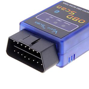 cheap Car Headlights-Mini ELM327 V1.5 Bluetooth ELM 327 OBDII OBD2 Protocols Auto Diagnostic Tool Scanner Interface Adapter