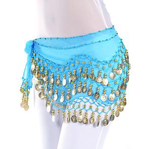cheap Practical Favors-Belly Dance Coin Women's Training Chiffon / Ballroom