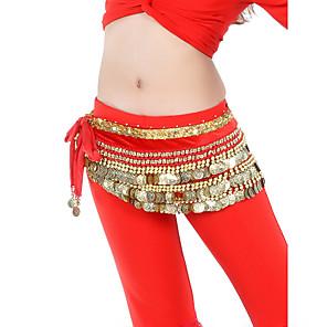 cheap Practical Favors-Belly Dance Coin Beading Women's Training Velvet / Ballroom