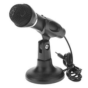 cheap Microphones-Wired -58dB±3dB 3.5mm 32ohm for Studio Recording & Broadcasting Karaoke Microphone