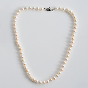 cheap Necklaces-Women's Beaded Necklace Pearl Necklace Jewelry For Daily
