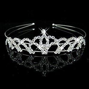 cheap Gifts & Decorations-Crystal / Rhinestone / Fabric Tiaras / Headbands with 1 Wedding / Party / Evening Headpiece