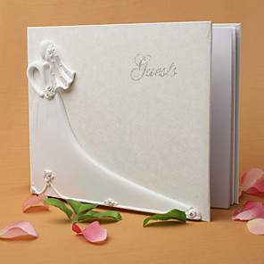 cheap Favor Holders-Guest Book Resin / Polyester Garden Theme With Guest Book