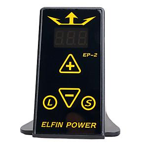 cheap Tattoo Machines-DragonHawk mini elfin digital tattoo machine power supply kit top quality