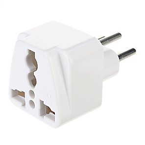 cheap AC Adapter & Power Cables-Universal UK/US/EU/AU to Europe Travel AC Power Adapter Plug Converter