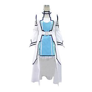 povoljno Anime kostimi-Inspirirana SAO Alicizacija Asuna Yuuki Anime Cosplay nošnje Japanski Cosplay Suits Kolaž Mellény Haljina Rukavi Za Žene / Struk Pribor / Struk Pribor