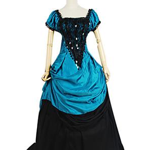 cheap Historical & Vintage Costumes-Dress Gothic Lolita Dress Lolita Accessories Dress Polyester Cotton Halloween Costumes