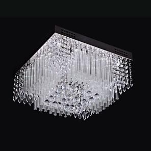 cheap Dimmable Ceiling Lights-SL® 40 cm Crystal / LED Flush Mount Lights Metal Chrome Modern Contemporary 110-120V / 220-240V / LED Integrated