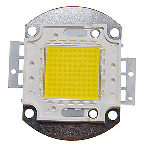 cheap Lamp Bases & Connectors-ZDM 1PC DIY 100W  9000-10000LM  Naturally White 4000-4500K  Light Integrated LED Module (DC33-35V 2.8A) Street Lamp for Projecting Light  Gold Wire Welding of Copper Bracket