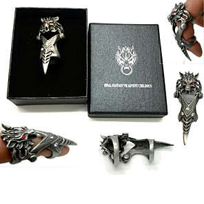 cheap Videogame Cosplay Accessories-Jewelry Inspired by Final Fantasy Cosplay Anime / Video Games Cosplay Accessories Ring Alloy Men's 855