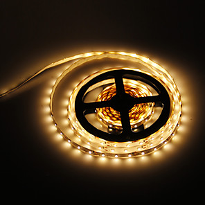 cheap LED Strip Lights-5m 300 LEDs 2835 SMD Warm White 12 V / IP44