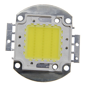cheap Light Bulbs-ZDM 1PC DIY 30W 2800-3200LM Warm White Cold White Naturally White 3000-6500K  Light Integrated LED Module (DC33-35V 0.8A) Street Lamp for Projecting Light  Gold Wire Welding of Copper Bracket