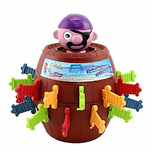 cheap Magic Tricks-Funny Lucky Stab Pop Up Toy Gadget Pirate Barrel Game