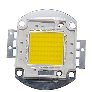 cheap Light Bulbs-ZDM 1PC DIY 60W 6000-7000LM  Naturally White 4000-4500K  Light Integrated LED Module (DC33-35V 1.5A) Street Lamp for Projecting Light  Gold Wire Welding of Copper Bracket