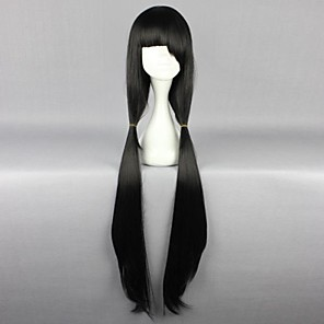 cheap Anime Cosplay Wigs-Date A Live Kurumi Tokisaki Cosplay Wigs Women's 40 inch Heat Resistant Fiber Anime Wig
