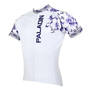 cheap Cycling Jerseys-ILPALADINO Men's Short Sleeve Cycling Jersey Floral Botanical Bike Jersey Top Mountain Bike MTB Road Bike Cycling Breathable Quick Dry Ultraviolet Resistant Sports Clothing Apparel