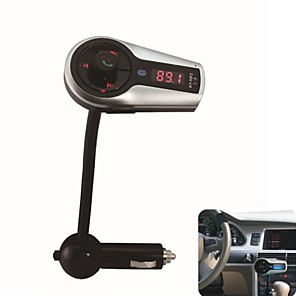 cheap Car FM Transmitter/MP3 Players-Bluetooth Handsfree FM Transmitter USB/SD Card MP3 Format Music playing With Multi-function remote control